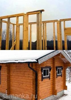 какие дома теплее каркасные или из бруса