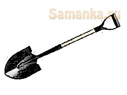 Лопата – ручной инструмент для осуществления работ с грунтом и любыми сыпучими материалами