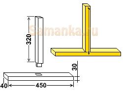 Ватерпас – простейший прибор, применяемый в строительстве для проверки горизонтальности поверхности
