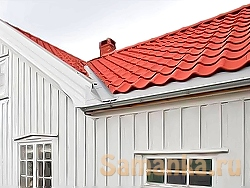 Ендова – место на крыше, где стык двух плоскостей крыш образует внутренний угол