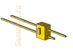Рейсмус – разметочный инструмент, позволяющий провести линию, параллельную выбранной стороне