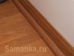 Плинтус – профильная или ровная планка, устанавливаемая в месте примыкания стены и пола