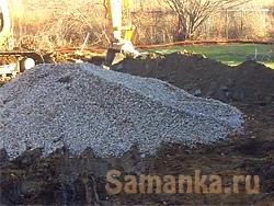 Щебень – строительный материал, получаемый путем дробления горной породы на мелкие частички