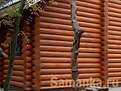 Венец – полное количество бревен или бруса, составляющих один горизонтальный ряд деревянного дома, сруба
