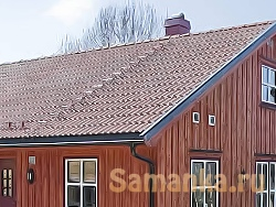 Желоб – деталь крыши, служащей для сбора воды с нее и отвода в водоприемную воронку