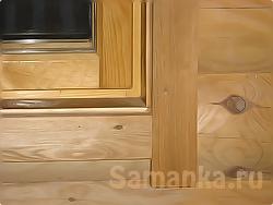 Наличник – декоративная планка, применяемая для прикрытия места соединения оконной или дверной коробки со стеной