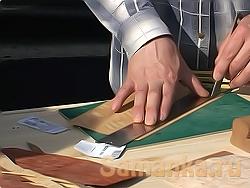 Шпон – тонкие, не больше 3 мм листы, срезы с дерева, применяемые как облицовочный материал