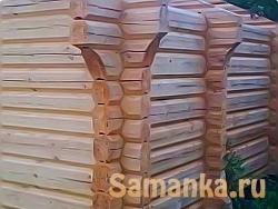 Лафет – подготовленная и обработанная древесина, бревно, имеющее две плоские и параллельные стороны, а две другие полуовальные