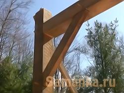 Брус – пиломатериал квадратного или прямоугольного сечения, получаемый из круглого леса опиливанием или отесыванием
