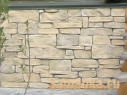 Инцерт – способ придания бетонной поверхности декоративности, облицовкой ее природным или искусственным камнем неправильных форм