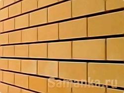 Желтый кирпич один из востребованных в последнее время строительных материалов