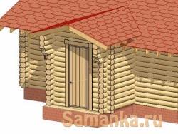 Тамбур – небольшое помещение, пристраиваемое к центральному входу или обустраиваемое около входной двери