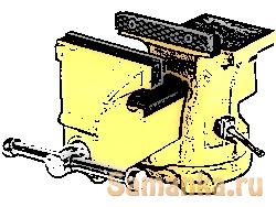 Щека, щечки – распространенное техническое название боковой, обычно плоской части чего либо