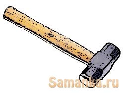 Своим названием кувалда обязана процессу ковке металла, родившаяся и применяющаяся в кузницах, означая инструмент которым куют