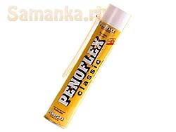 Пенофлекс (PENOFLEX) – профессиональная монтажная пена, предназначенная для заделки и герметизации швов и щелей