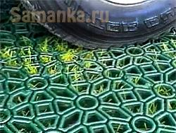 Разнообразие газонных решеток заключается не только в размерах и форме ячеек
