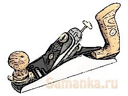 Шерхебель – ручной столярный инструмент, рода рубанков, используемый для грубого, чернового строгания
