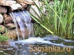 Красивым водопад становится благодаря ниспадающему потоку
